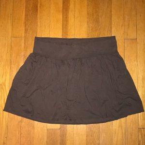 Abercrombie & Fitch brown skirt